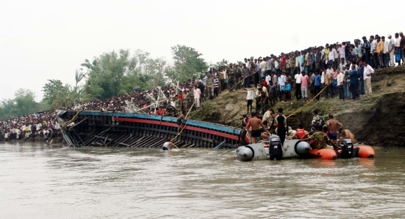 Mutilated body of a ship captain found inside a river in Delta