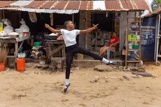 Nigerian ballet dancer, Anthony Madu gets scholarship by the American Ballet Theatre in New York after video him dancing in the rain went viral (video)