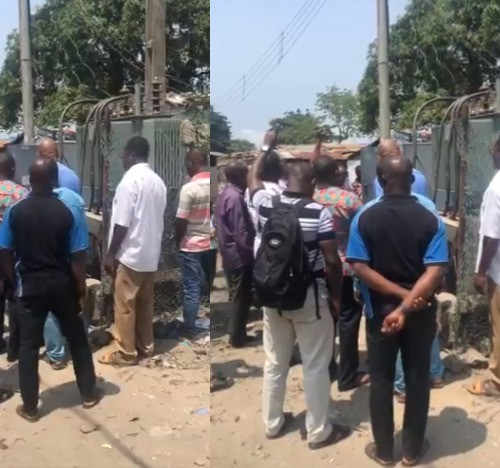 Ikota residents pray over faulty transformer (video)