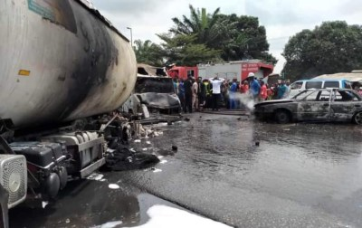 Imo petrol tanker explosion leaves one dead and three others injured (graphic photos)