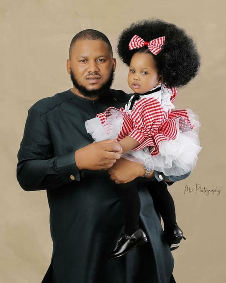 Actress Ronke Odusanya shares lovely family photos as her daughter, Fife, turns one today