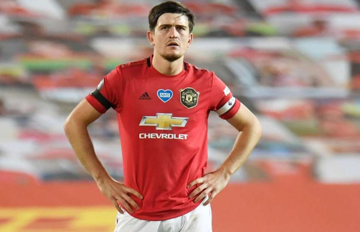 Manchester United captain, Harry Maguire arrives at court after he was arrested for