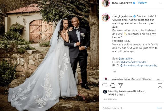 Mafikizolo?s Theo marries girlfriend 20 years younger than him