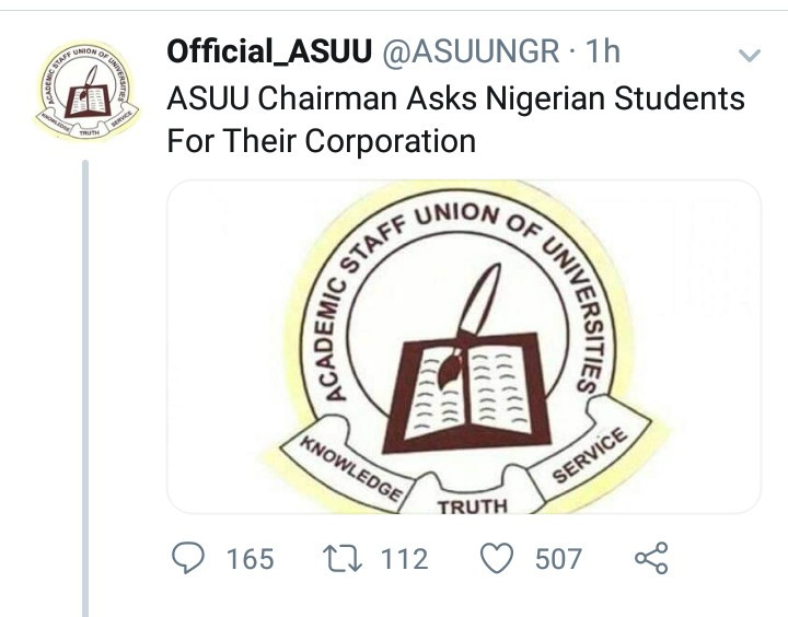 Nigerian students criticise ASUU after the union