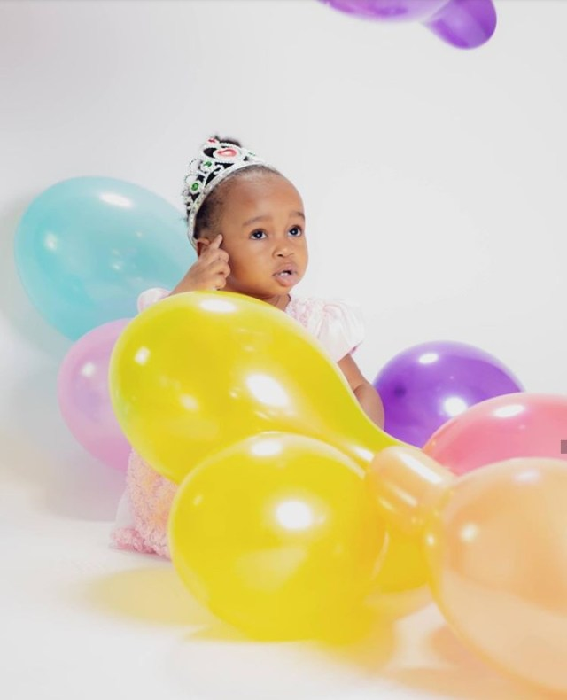 Sweet! Ruth Kadiri-Ezerika releases new photos of Daughter as she turns One
