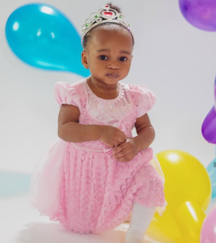Ruth Kadiri-Ezerika releases new photos of her daughter to mark her first birthday
