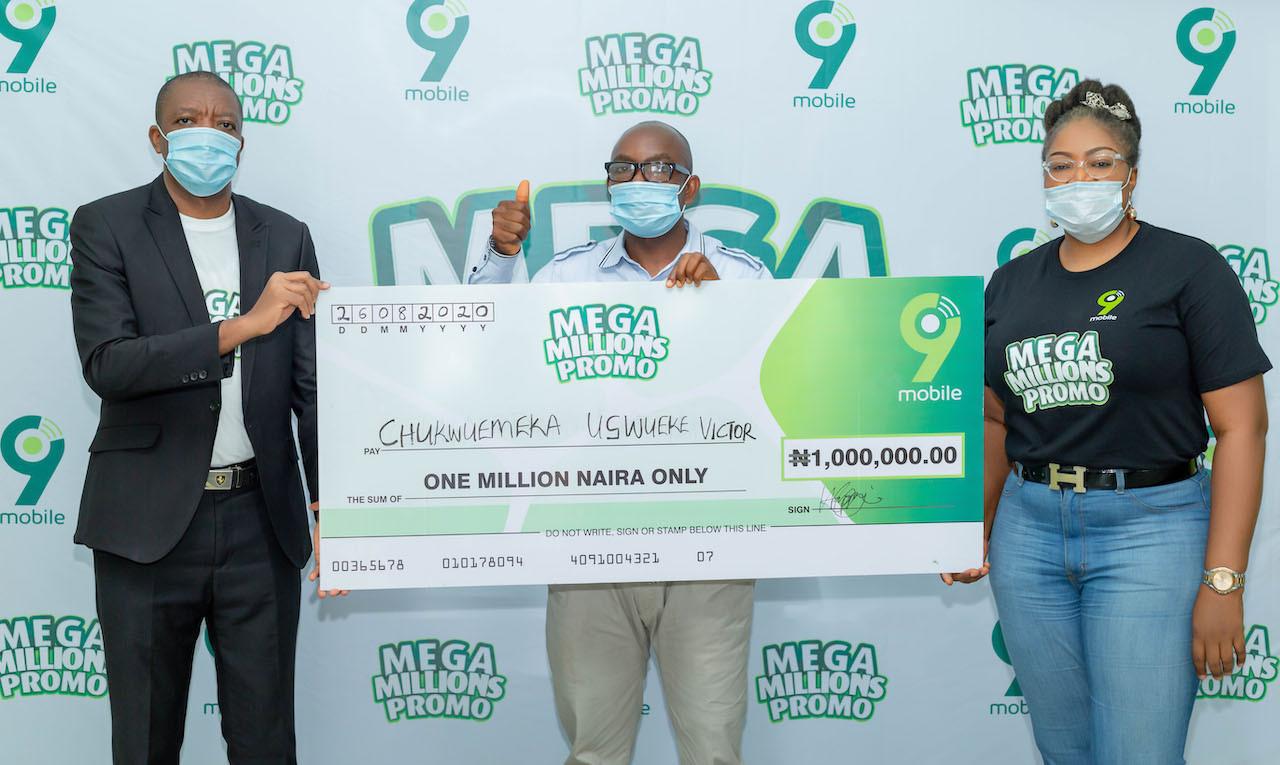9mobile Mega Millions Promo ? Enugu winner to start a masters? degree with prize money