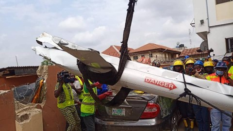 Update: Third victim of Lagos helicopter crash has died