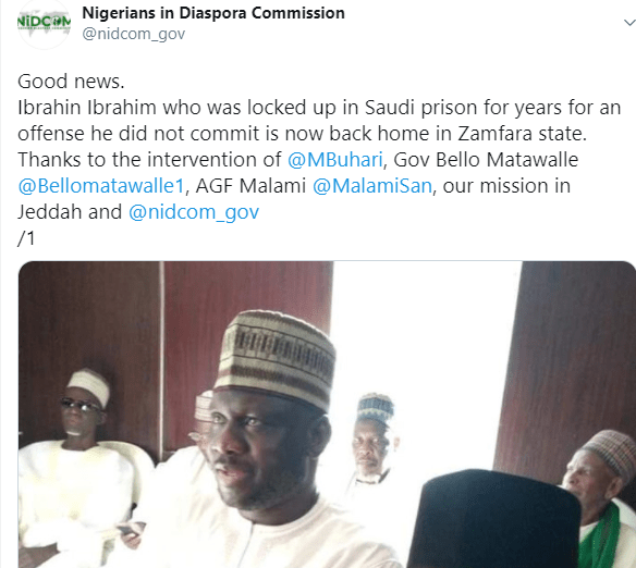 Zamfara cleric who was freed from death sentence in Saudi Arabia appointed as Governor Matawalle