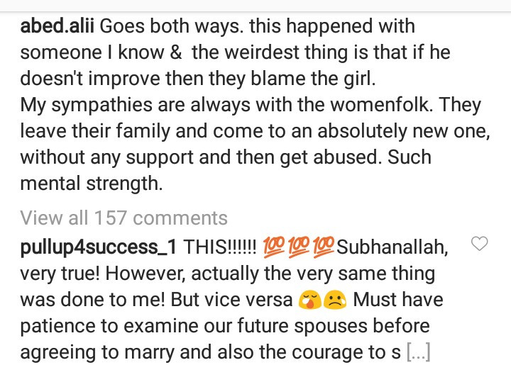 """The worst crime a family can do is marrying their scumbag son to an innocent girl in the hope he will miraculously change"" Arab influencer writes"
