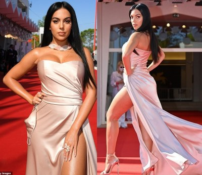 Photos of Cristiano Ronaldo's girlfriend, Georgina Rodriguez at Venice Film Festival