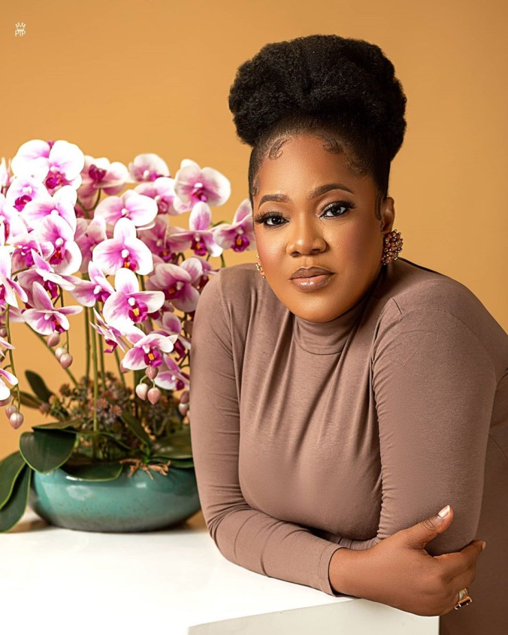 Toyin Abraham shares new new photos as she turns a year older today