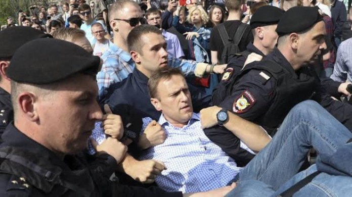 Russian opposition leader, Alexei Navalny out of coma after allegedly being poisoned with Novichok
