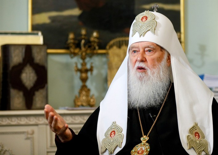 Ukrainian church leader who blamed COVID-19 on gay marriage, tests positive for the virus