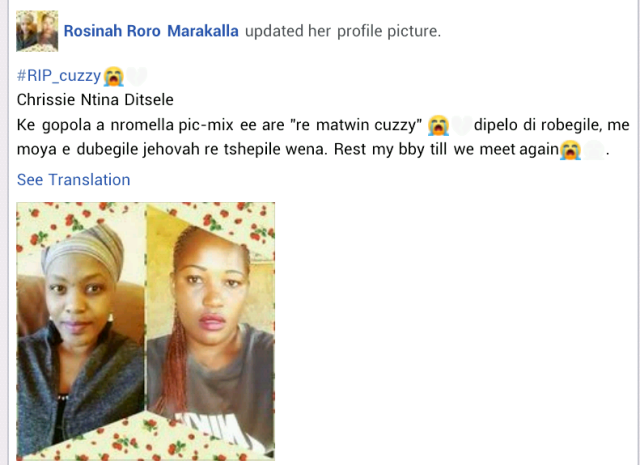 #South Africa: 30-year-old side-chic killed in Love Triangle