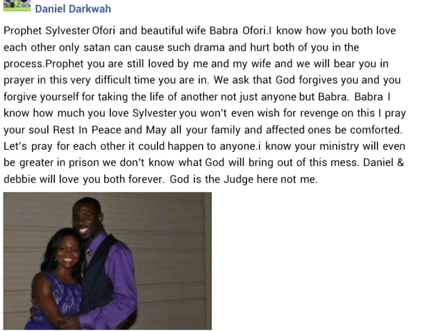 """""""Your ministry will be greater in prison"""" - Colleague sends his love and prayers to Ghanaian pastor who brutally murdered his wife, blames Satan"""