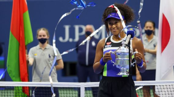 Naomi Osaka wins 2nd US Open women