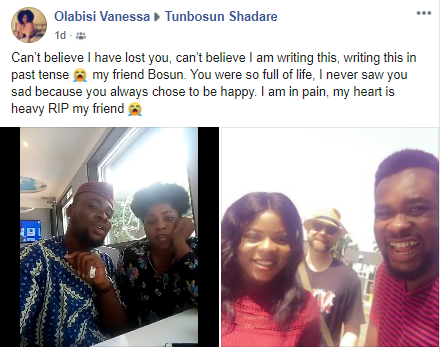 OAP Tunbosun Shadare dies after a brief illness