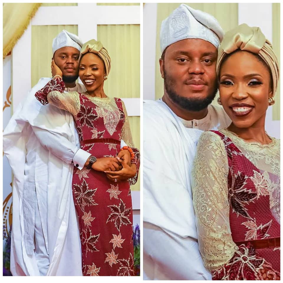 Next to Jesus, this man is the best thing that happened to me - actress, Lala Akindoju, writes as she celebrates 2nd wedding anniversary with hubby, Chef Fregene