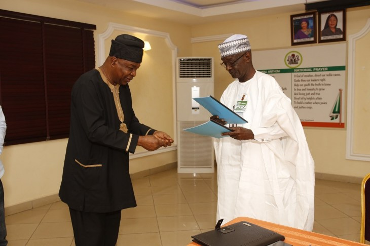 NTA signs MOU with Wale Adenuga Productions Ltd on return of The Village Headmaster TV Drama Series