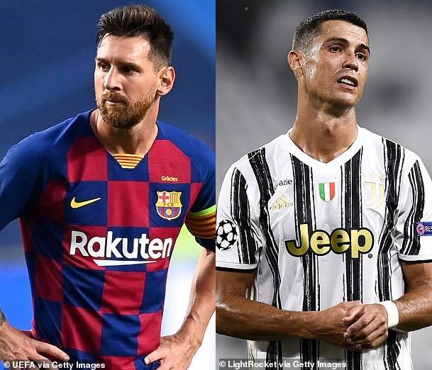 Lionel Messi and Cristiano Ronaldo fail to make UEFA