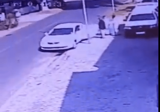 Video shows moment a businessman was kidnapped in broad daylight in South Africa
