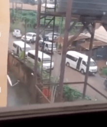 Moment cultists chased away EFCC operatives during a raid in Imo state (videos)