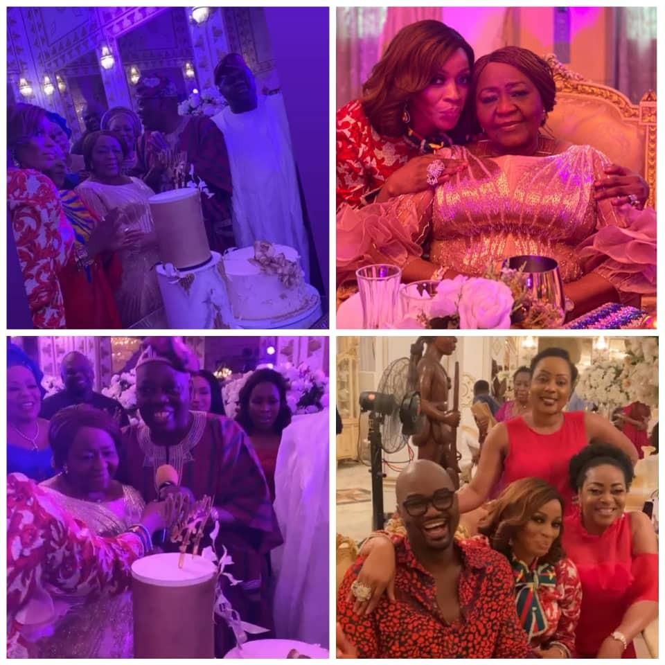 Photos and videos from billionaire businessman, Rasaq Okoya