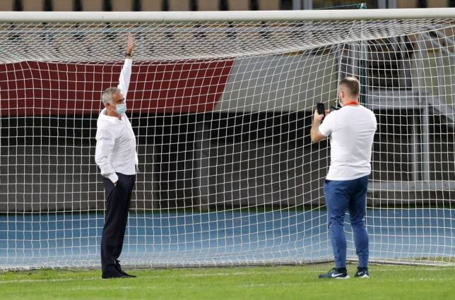 Jose Mourinho hits back at Ole Gunnar Solksjaer after the Manchester United manager mocked him for measuring a goal post