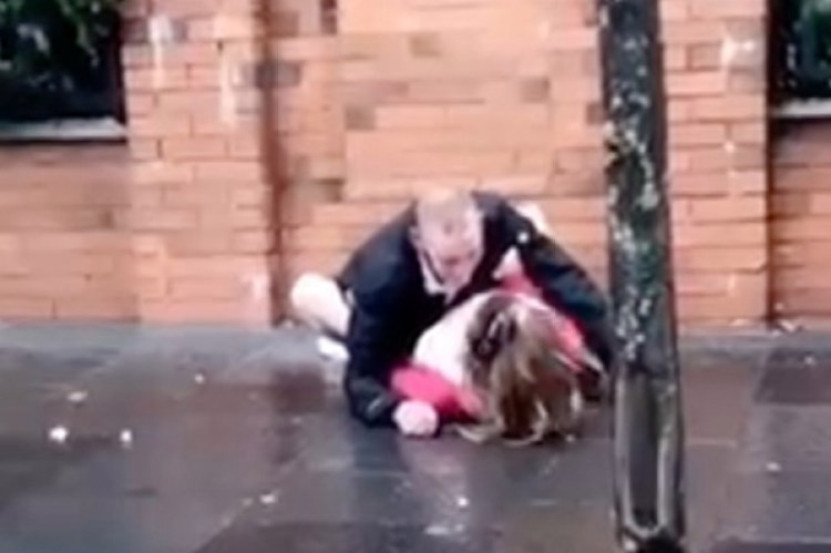 Couple filmed having sex on street in front of shocked passersby luckily avoid jail time