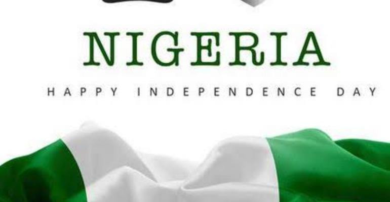 Happy 60th Independence day Nigeria!