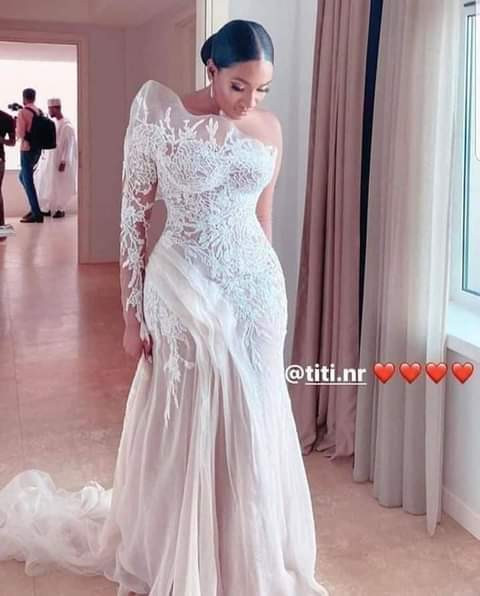 Nuhu Ribadu's daughter apologises to friends, family for her choice of  wedding dress
