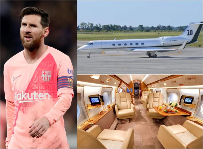 Lionel Messi lends his luxury ?12m private jet to Argentina team-mates as they travel for international duty