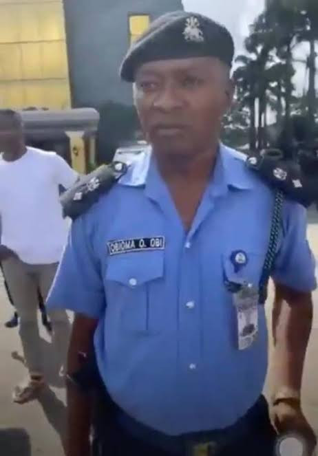 Disciplinary action commenced against policeman, Obioma O. Obi who was seen in a viral video assaulting #EndSARS protesters lindaikejisblog