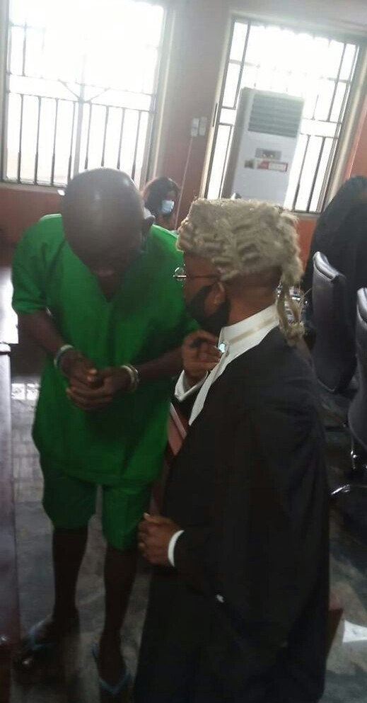 Lawyer to Port Harcourt serial killer Gracious David-West to appeal death sentence; says his client is a father of three young children