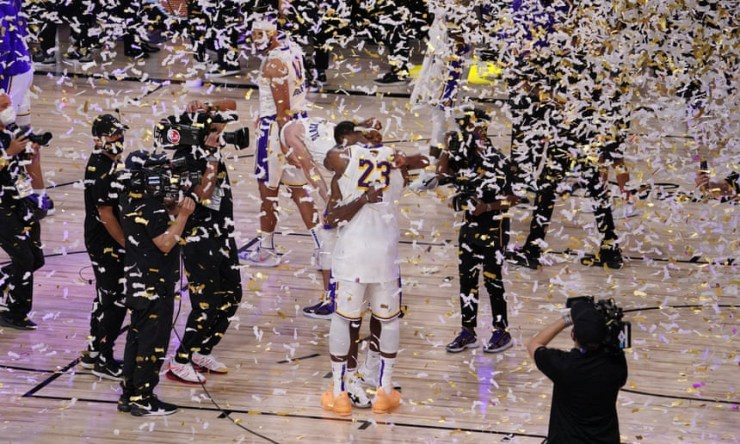 Los Angeles Lakers beat Miami Heat to win the 2020 NBA championship (photos)