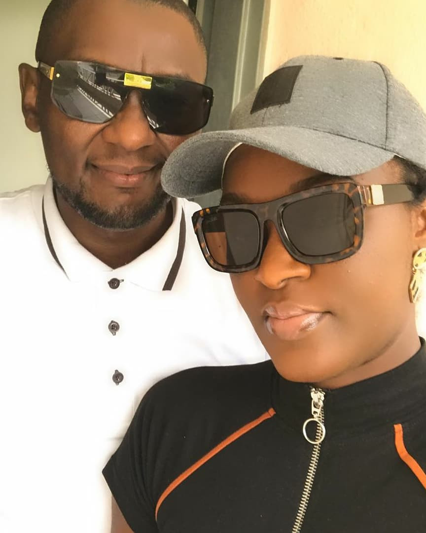 Actress Chacha Eke-Faani shares loved up photos and video of herself and her husband