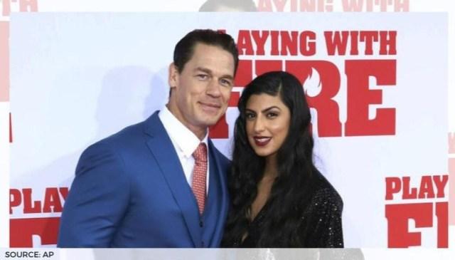 La star de la WWE, John Cena épouse sa petite amie Shay Shariatzadeh lors d'une cérémonie privée