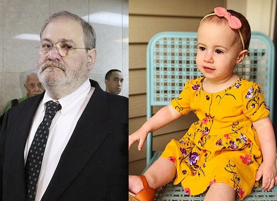 Grandfather pleads guilty to negligent homicide for dropping his 18-month-old granddaughter 150ft to her death from cruise ship window