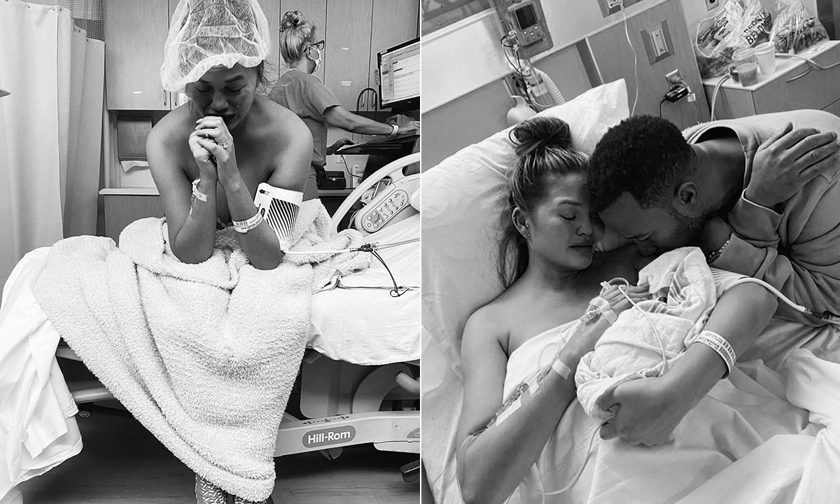"""""""We are quiet but we are okay"""" -?Chrissy Teigen updates fans after pregnancy loss"""