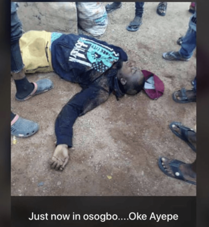 Hoodlums attack #EndSARS protesters in Osogbo, destroy cars in Governor Oyetola