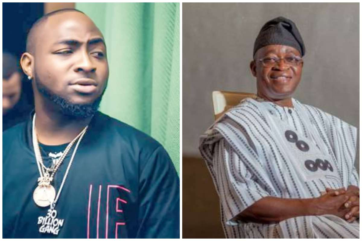 You have failed the people of Osun - Davido calls out Governor Oyetola over death of two #EndSARS protesters lindaikejisblog