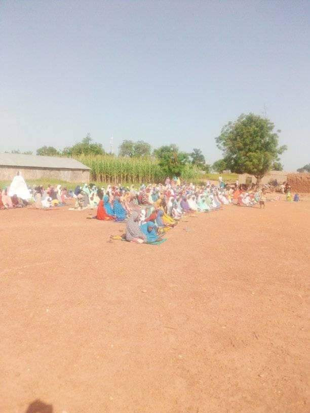 Photos: Residents of Zamfara communities pray over incessant bandit attacks and killings