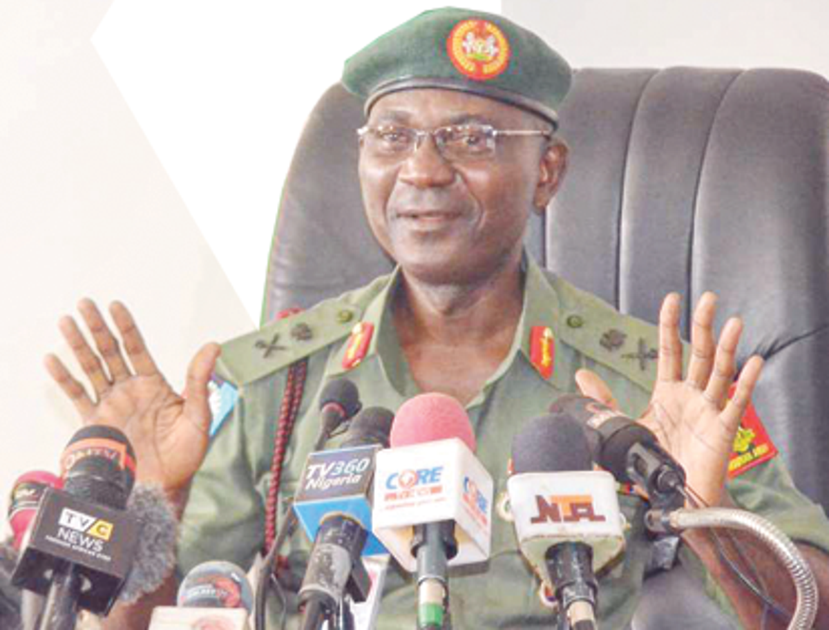 Videos of shootings in Lekki toll gate were photoshopped - Defence spokesperson, John Eneche says (video)