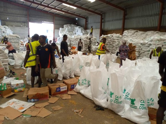 5f91c4ed66d9c Lagos State Govt condemns looting of Maza Maza warehouse, says distribution of COVID-19 palliatives was halted due to #EndSARS protest