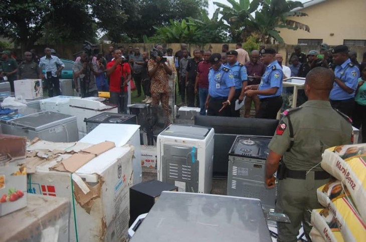 #EndSARS: Police arrest 10 suspects in Akwa Ibom, recover looted properties worth millions of Naira