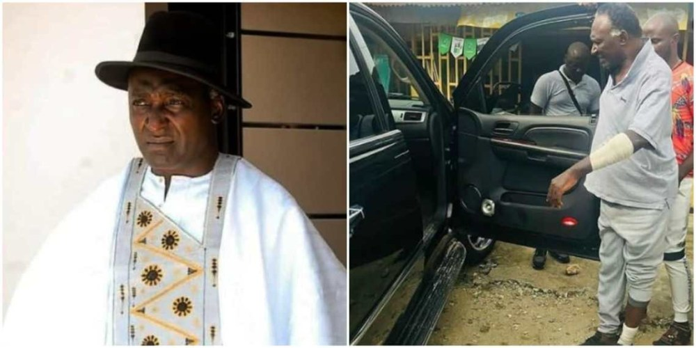 They took N650,000 from me, all my phones, destroyed my car and slashed my hand with a machete - Actor Clem Ohameze recounts how he was attacked (listen to audio)
