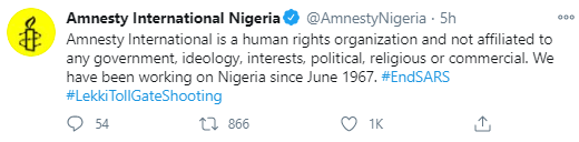 Amnesty International responds to threats from NGO asking them to leave Nigeria
