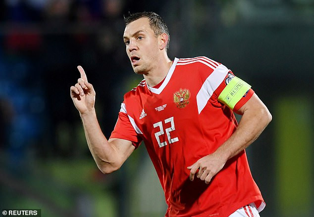 """?""""We are all sinners"""" - Russia World Cup hero and captain, Artem Dzyuba apologises after he was caught masturbating in leak video"""