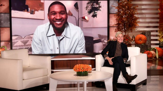 Usher shares first photo of his newborn daughter on what should have been her delivery date